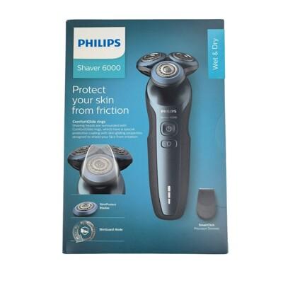 【Philips】 飛利浦 君爵系列 360-D 多動向三刀頭電鬍刀 S6820 (5.1折)