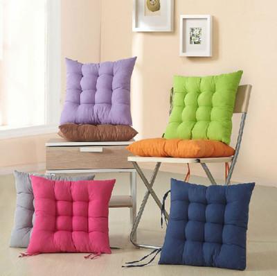糖果色 加厚坐墊 靠枕 有綁帶 (4.1折)