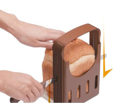 吐司切片小幫手  吐司切片器  烘焙小道具 切麵包架 (4.2折)