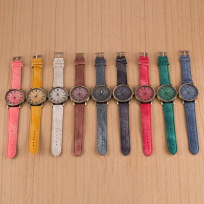 簡約時尚牛仔風手錶 (1.5折)