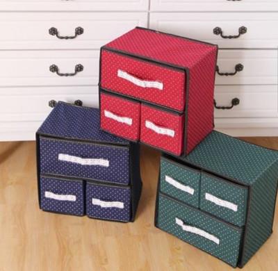 居家收納  內衣褲收納盒  雜物收納抽屜 (6.2折)