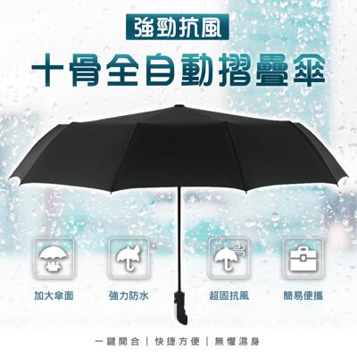 【勝利者】超強十骨抗強風雨摺疊傘 黑膠板 (3色) (4.8折)