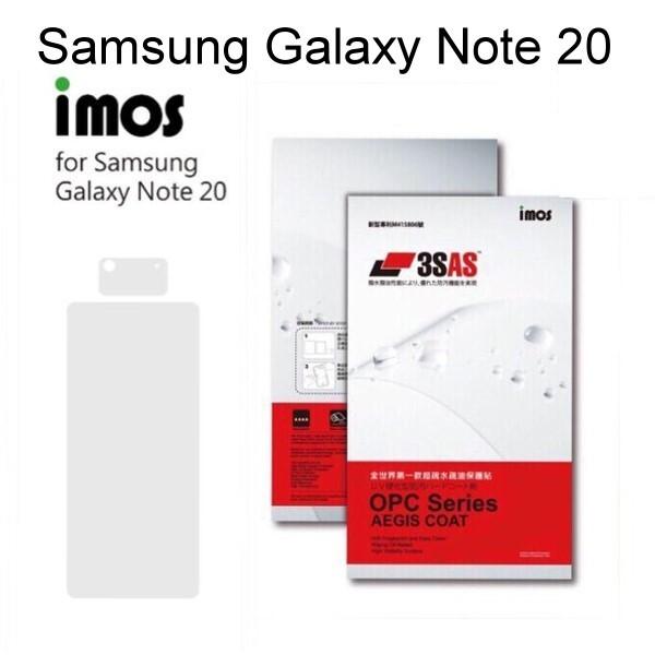 imos3sas系列保護貼 samsung galaxy note 20 (6.7吋)