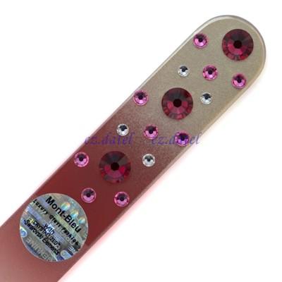 【皇家貴族水晶--彩色系列CNC】歐洲捷克水晶玻璃指甲銼刀 SWAROVSKI水鑽 水晶美甲刀 指甲 (5.1折)