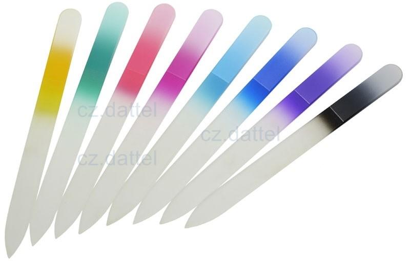 捷克美甲刀--彩虹系列歐洲捷克水晶玻璃指甲銼刀 水晶美甲刀 指甲刀 水晶銼刀 捷克原