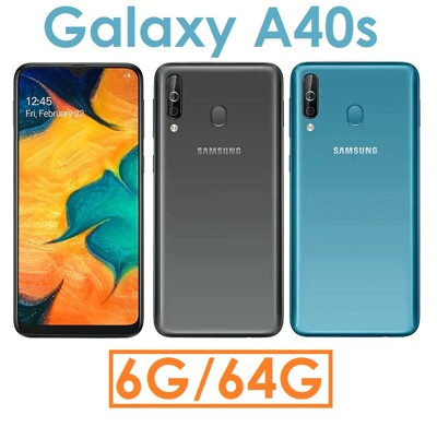 Samsung 三星 Galaxy A40s 6G/64G 手機 (7.4折)