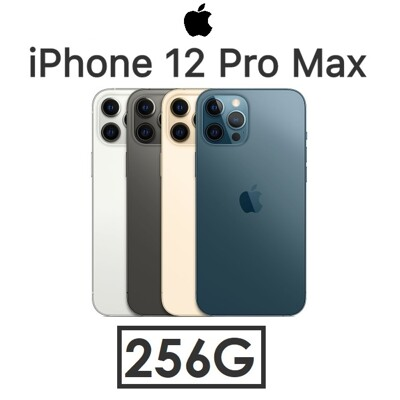 蘋果 iPhone 12 Pro Max 6.7吋(256G)手機 (原廠充電頭+玻璃貼) (10折)