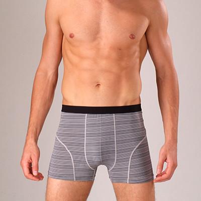 法國名牌 型男條紋平口褲/零碼下殺出清(隨機出色)8409 (2.1折)