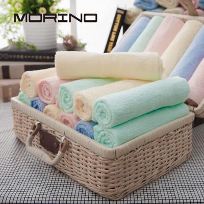 MORINO 素色毛巾4入組 (5.4折)