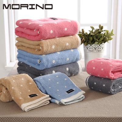 MORINO 美國棉圓點毛巾 (6折)