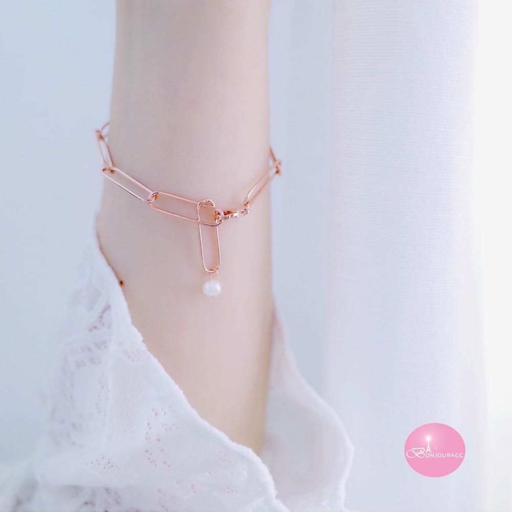 韓國 簡約小珍珠手鍊 手環 針珠手鍊 手鍊 手鏈bonjouracc