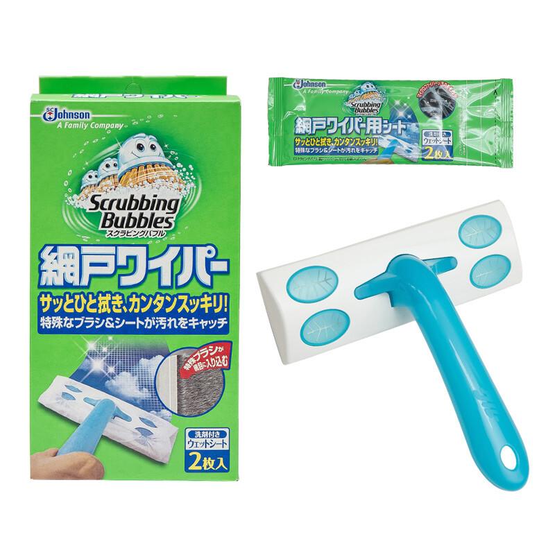日本sc johnson紗窗強力清潔刷