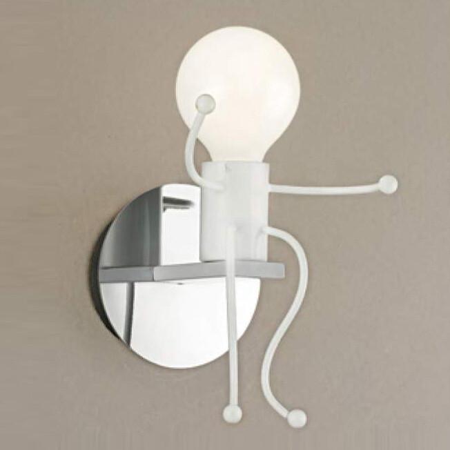 yphome造型壁燈 白 4836