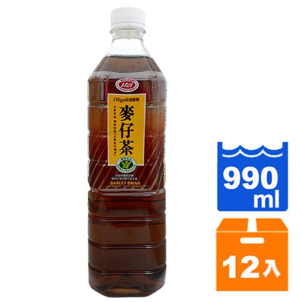 愛之味麥仔茶-990ml(12瓶/箱) [免運]