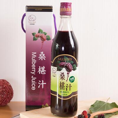 大樹張媽媽-無糖桑椹汁600cc (6.8折)
