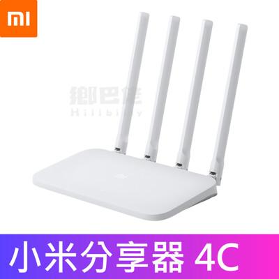 【官方正品】小米路由器4C 小米 路由器 2.4G Wifi 基地台 分享器 放大器 強波器 網路 (5.6折)
