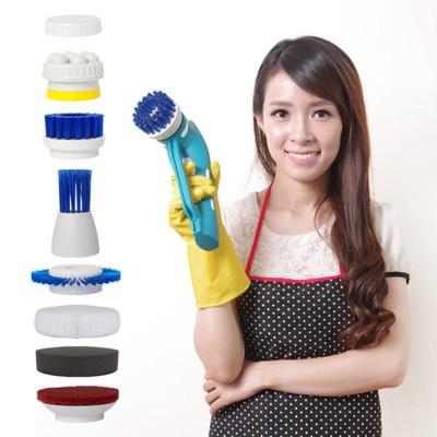 YOTO悠樂 攜帶式一機多用防水清潔機/打蠟機/去角質按摩機(ZY1392) (7.5折)