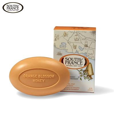 South of France 南法馬賽皂 橙花蜂蜜 170g- 一般、敏感肌膚適用 (6.6折)