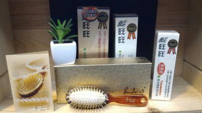 【髮旺旺】髮根滋養精華液50g+滑順型洗髮精250g+潘朵拉24k黃金梳(大) (7.7折)