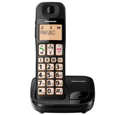 Panasonic國際牌 KX-TGE110TW  大螢幕.大按鍵.助聽功能.數位無線電話 (7.8折)