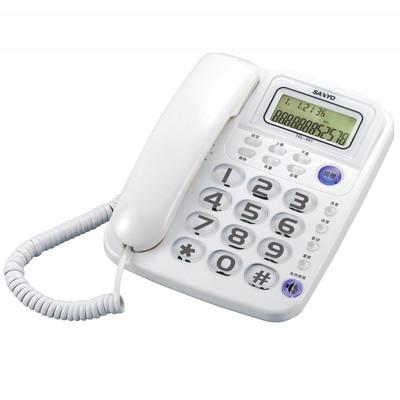 SANYO台灣三洋 TEL-991 超大鈴聲有線電話 (6.8折)