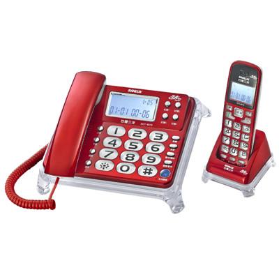 SANLUX台灣三洋 DCT-8915 2.4G長距離數位無線電話子母機 (7.7折)