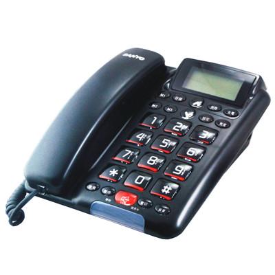 SANYO 台灣三洋 TEL-011 免持對講 ‧ 來電顯示有線電話 (7.9折)