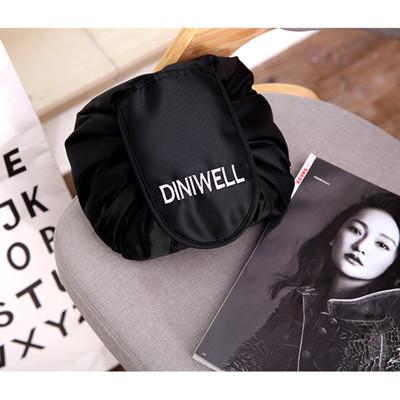【TD】DINIWELL 韓版大容量懶人抽繩化妝包 多功能束口旅行收納包 洗漱包 (6.1折)