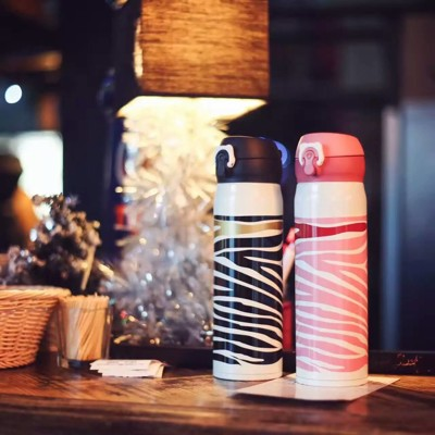 韓國BEDDY BEAR 杯具熊 聖誕限量款 粉色斑馬 304不鏽鋼保溫杯 保溫瓶 悶燒杯 (7.5折)