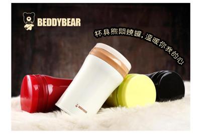 韓國BEDDY BEAR 杯具熊 經典純色系 304不銹鋼 悶燒罐 食物罐 湯罐 (5.5折)