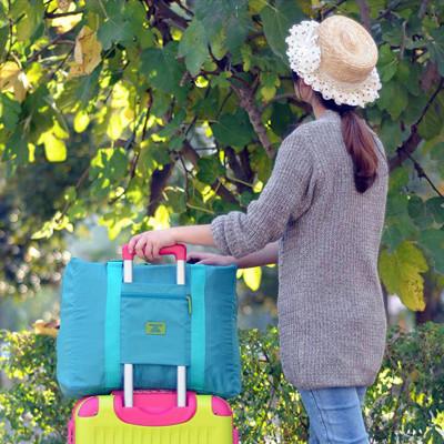 韓版 HDWISS 大容量 提帶可調 可折疊多功能手提/肩背旅行袋 行李袋 行李箱 (5.1折)