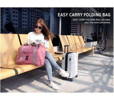 【統頂】韓版 多功能折疊旅行收納袋 手提袋 單肩旅行袋 拉桿包 (6.2折)