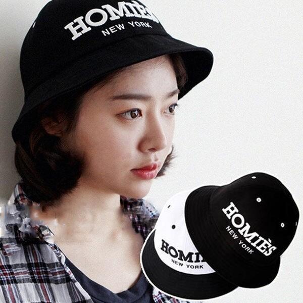 韓版 刺繡字母時尚漁夫帽盆帽 遮陽帽子 g1767