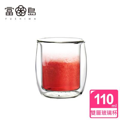 【FUSHIMA 富島】英倫系列雙層耐熱玻璃杯110ML (2.1折)