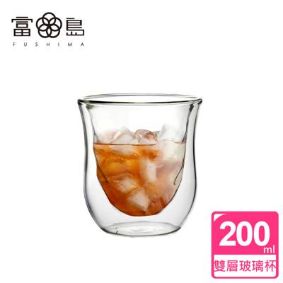 【FUSHIMA 富島】星宸系列雙層耐熱玻璃杯200ML (2.3折)