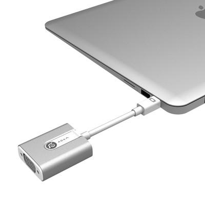 亞果元素 M1 Mini DisplayPort 轉 VGA 轉接器 (8.9折)