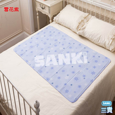 日本SANKi 雪花固態凝膠冰涼床墊1床(90x140cm) 可選 (4.7折)