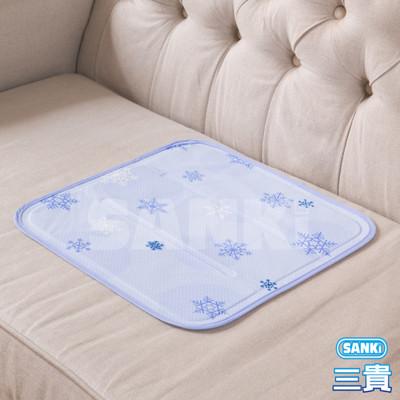 日本sanki 雪花紫 固態凝膠冰涼枕坐墊1入 可選 (4.4折)