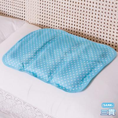 日本Sanki 小資普普風冷凝枕墊-2入 (2折)