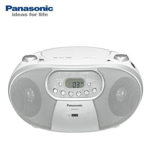 panasonic國際mp3/usb手提音響 白色 rx-du10
