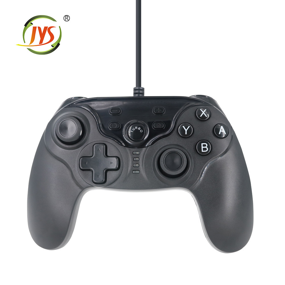 nintendo switch任天堂switch周邊 帶震動功能有線搖桿/手把
