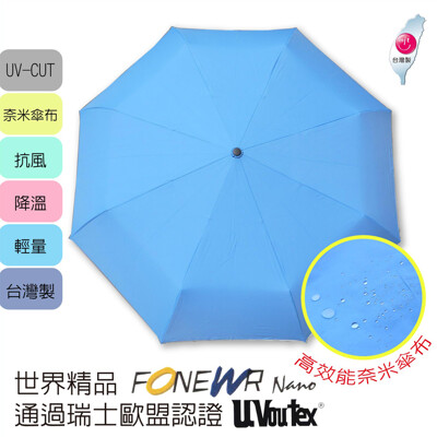 lovely 蘿芙妮福懋耐潑水快乾自動晴雨傘 (9.9折)