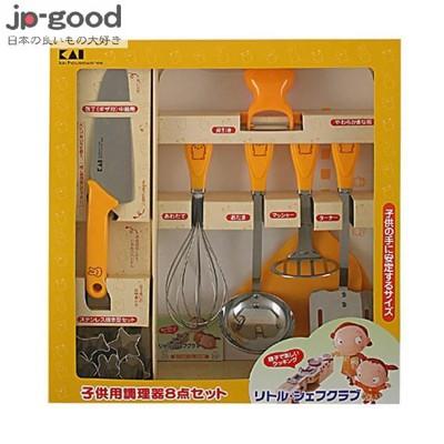 【日本好物JP-GOOD】KAI 貝印 兒童料理工具組 ★GKB40607 (7折)