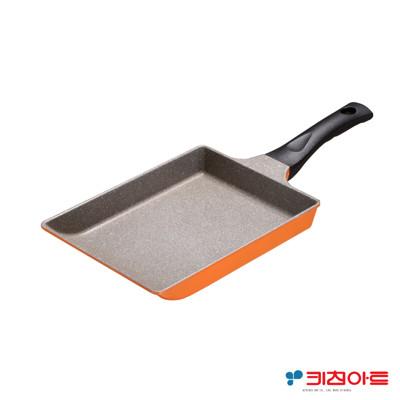 【Kitchen Art】亮麗橘鈦晶石玉子燒鍋-24cm (5.8折)