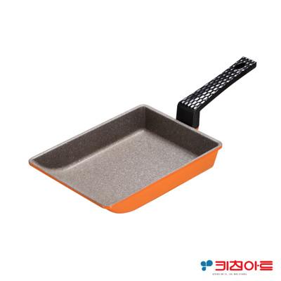 【韓國Kitchen Art】亮麗橘鈦晶石玉子燒鍋(19cm) (6.3折)