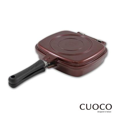 【義大利CUOCO】盒型熱循環不沾雙面煎烤鍋(韓國原裝進口) (1.5折)