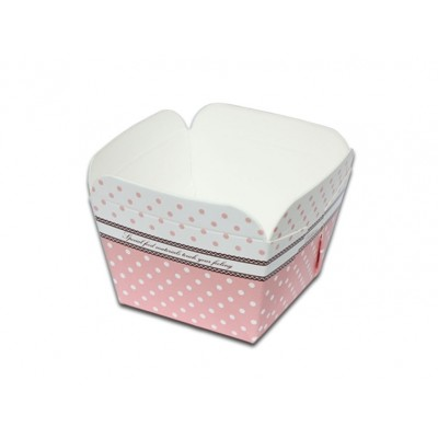 【嚴選SHOP】30入 方形蛋糕盒 戚風蛋糕模 烤盒 西點盒 馬芬盒 聖誕 紙模 杯子蛋糕 烘烤紙杯 (3.2折)