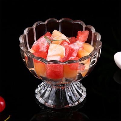 【嚴選SHOP】100cc 花型甜品玻璃杯 果凍杯 沙拉碗 冰淇淋碗 甜點杯 玻璃碗 玻璃容器 果汁 (1.4折)