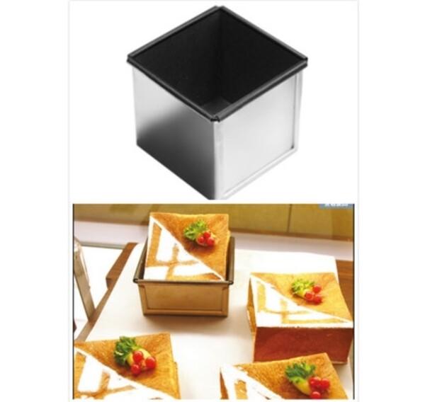 sn2180三能 正方型土司盒(含蓋) 不沾土司模 吐司盒蓋 正方形吐司模 土司模 吐司盒 不沾