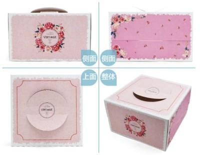 【嚴選SHOP】母親節玫瑰 6吋/8吋蛋糕盒 外帶提盒 塔盒 烘焙包裝 餅乾糖果紙盒 乳酪盒 布丁蛋 (4.4折)